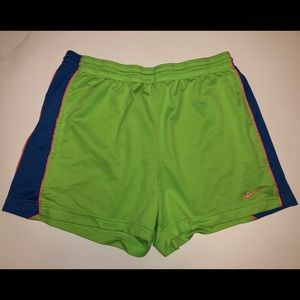 Used Women's Lime Green Nike Shorts!!